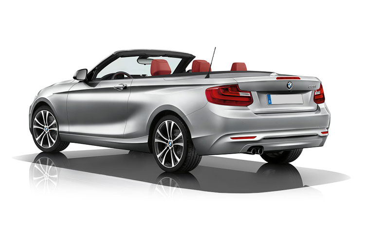 BMW 2 Series 218 Convertible 2.0 d 150PS M Sport 2Dr Manual [Start Stop] [Tech II] back view
