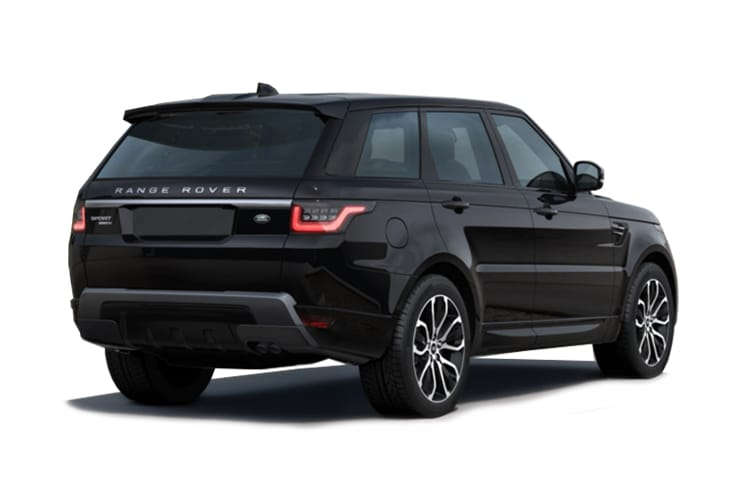 Land Rover Range Rover Sport SUV 3.0 D MHEV 300PS HSE Dynamic Black 5Dr Auto [Start Stop] [5Seat] back view