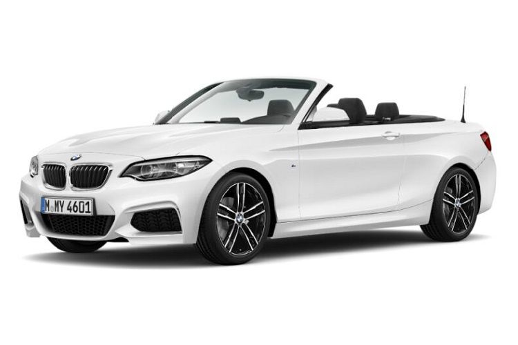 BMW 2 Series 220 Convertible 2.0 d 190PS M Sport 2Dr Auto [Start Stop] front view