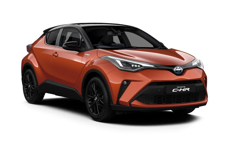 Toyota C-HR 5Dr 1.8 VVT-h 122PS Dynamic 5Dr CVT [Start Stop] [Lthr JBL] front view