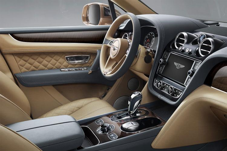 Bentley Bentayga SUV 4.0 V8 550PS  5Dr Auto [Start Stop] [4Seat] inside view
