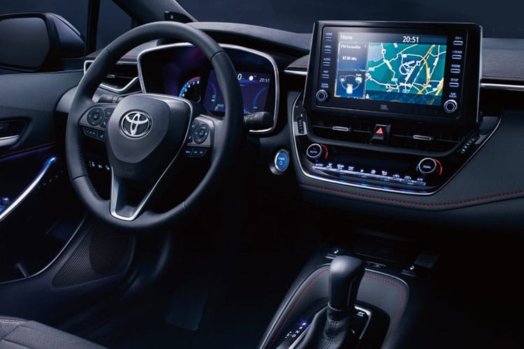 Toyota Corolla Touring Sports 2.0 VVT-h 184PS GR SPORT 5Dr CVT [Start Stop] inside view