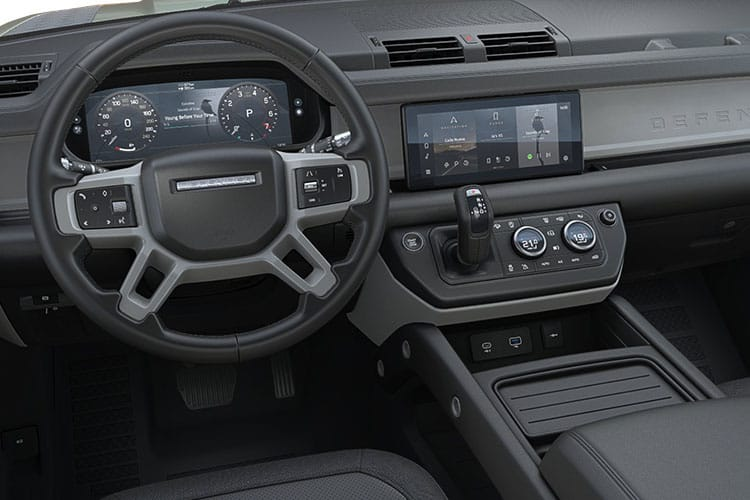 Land Rover Defender 110 SUV 5Dr 2.0 P400e PHEV 15.4kWh 404PS X-Dynamic HSE 5Dr Auto [Start Stop] [6Seat] inside view