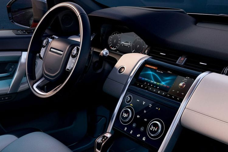 Land Rover Discovery Sport SUV 1.5 P300e PHEV 12.2kWh 309PS R-Dynamic S 5Dr Auto [Start Stop] [5Seat] inside view
