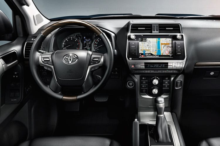 Toyota LandCruiser SUV 4wd 2.8 D 204PS Active 5Dr Auto [Start Stop] [7Seat] inside view