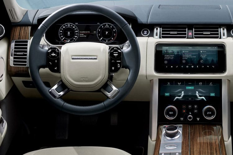 Land Rover Range Rover LWB SUV 3.0 D MHEV 350PS Fifty 5Dr Auto [Start Stop] inside view