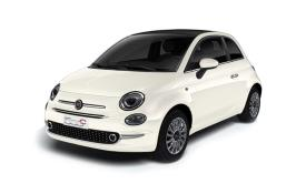 Fiat 500 Convertible car leasing